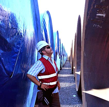 Photo of Freelance Inspector in Turkey, Welding & Coating Inspector and Pipe Mill & Pipe Line Quality Auditor